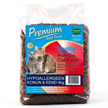 Premium Hypoallergeen Konijn en Eend