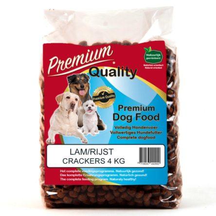 Lam / Rijst Crackers