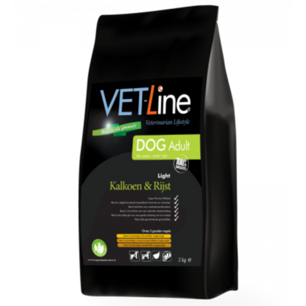 VET-Line Dog Adult Alle rassen Kalkoen & Rijst Light