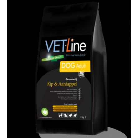 VET-Line Dog Adult Kip & Aardappel Graanvrij