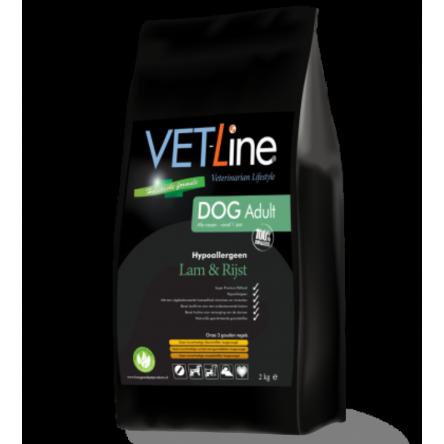VET-Line Dog Adult Lam & Rijst Hypoallergeen